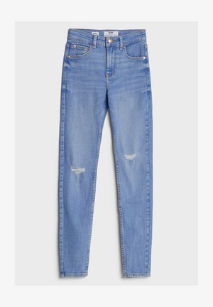 MIT HOHEM BUND  - Jeans Skinny Fit - light blue