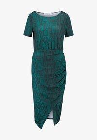 Ivyrevel - FRONT WRAP DRESS - Shift dress - green - 5