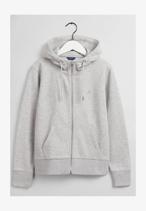 Vetoketjullinen college - light grey melange