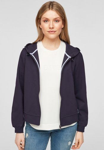 Zip-up sweatshirt - navy