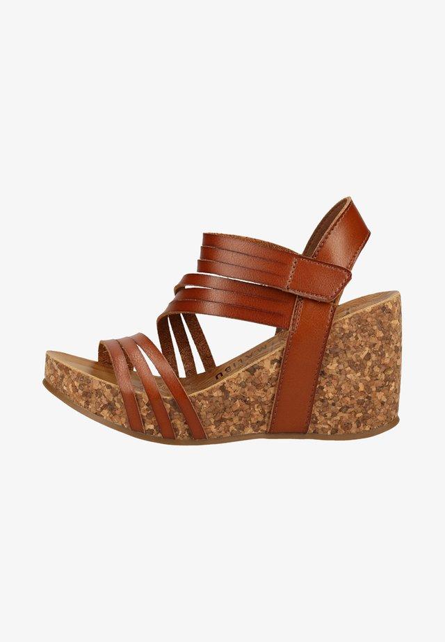 High heeled sandals - Scotch