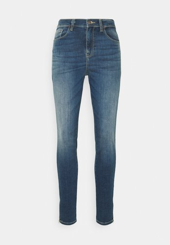 AMY ZIPPED - Jeans Skinny Fit - lolinca wash