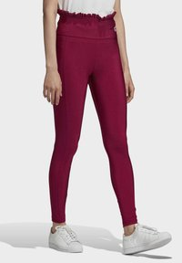 adidas Originals - BELLISTA SPORTS INSPIRED SLIM TIGHTS - Leggings - Trousers - power berry