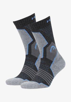 2 PACK - Sokken - grey / blue