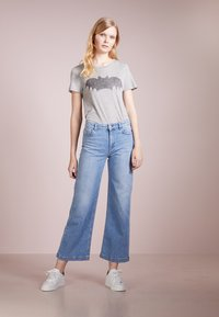 Zoe Karssen - T-shirt print - grey heather - 1