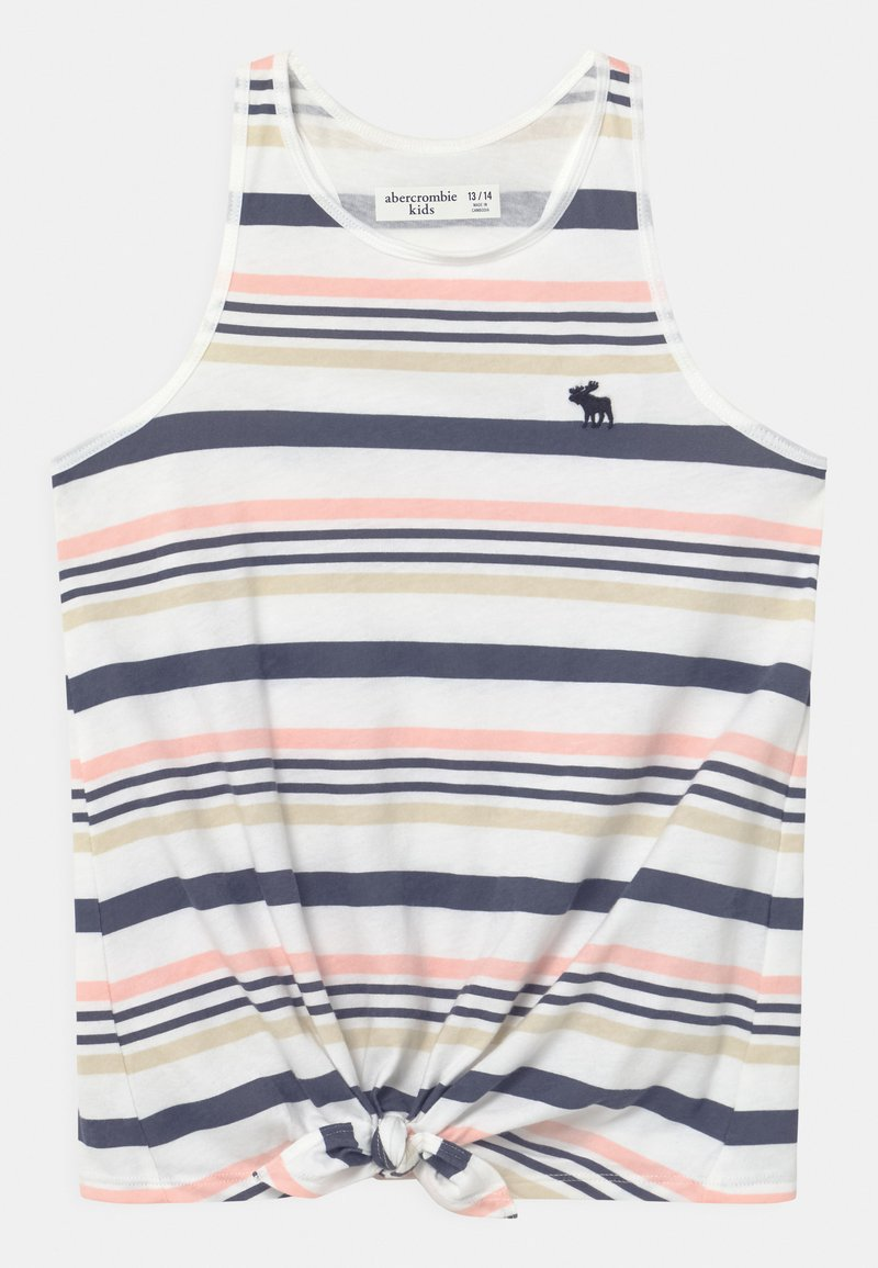 Abercrombie & Fitch - KNOT FRONT - Top - multi-coloured