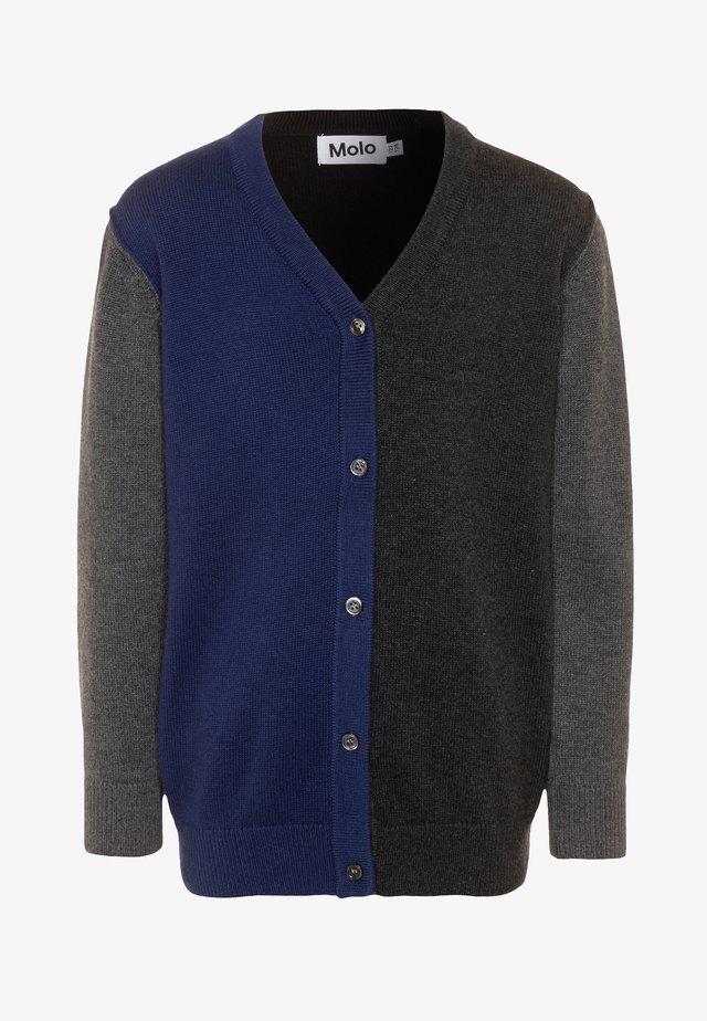 BASEL - Gilet - mottled grey/multicolor