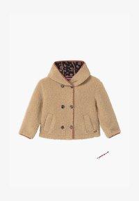 Scotch & Soda - SHORT LENGTH HOOD KEY STYLE - Winter jacket - ecru - 0