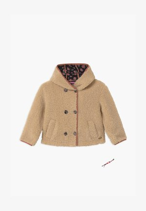 SHORT LENGTH HOOD KEY STYLE - Winter jacket - ecru