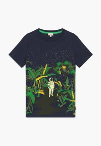 Paul Smith Junior - ADELIN - Print T-shirt - navy - 0