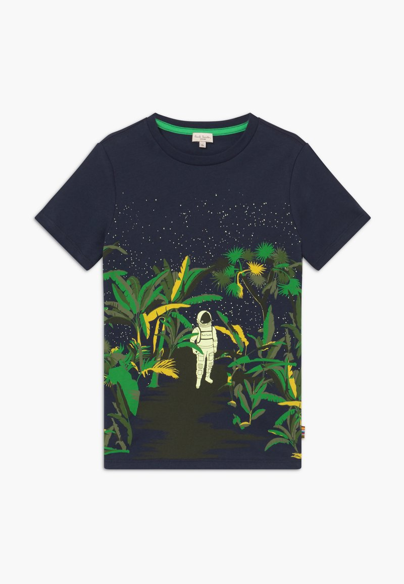 Paul Smith Junior - ADELIN - Print T-shirt - navy