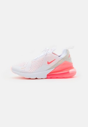 AIR MAX 270 - Joggesko - white/bright mango/crimson tint