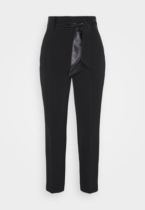 HOPE HIGH  - Chinos - jet black