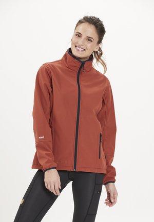 Covina MIT WASSERDICHTER ZWISCHENMEMBRAN - Soft shell jacket - orange