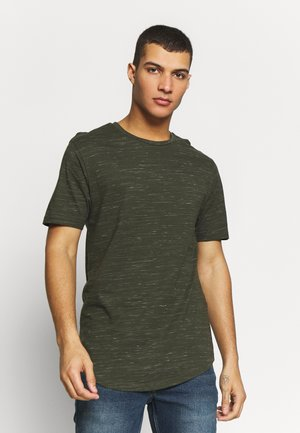 ONSMATTY LONGY TEE - T-shirt con stampa - forest night