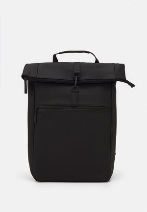COURIER BAG MATT RUBBERIZED  - Rucksack - black