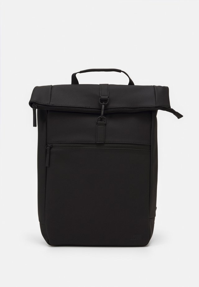 COURIER BAG MATT RUBBERIZED  - Plecak - black