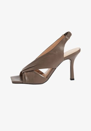 SIGNATURE  - High heeled sandals - grey