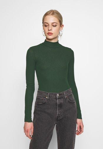 JAVA  - Long sleeved top - green dark