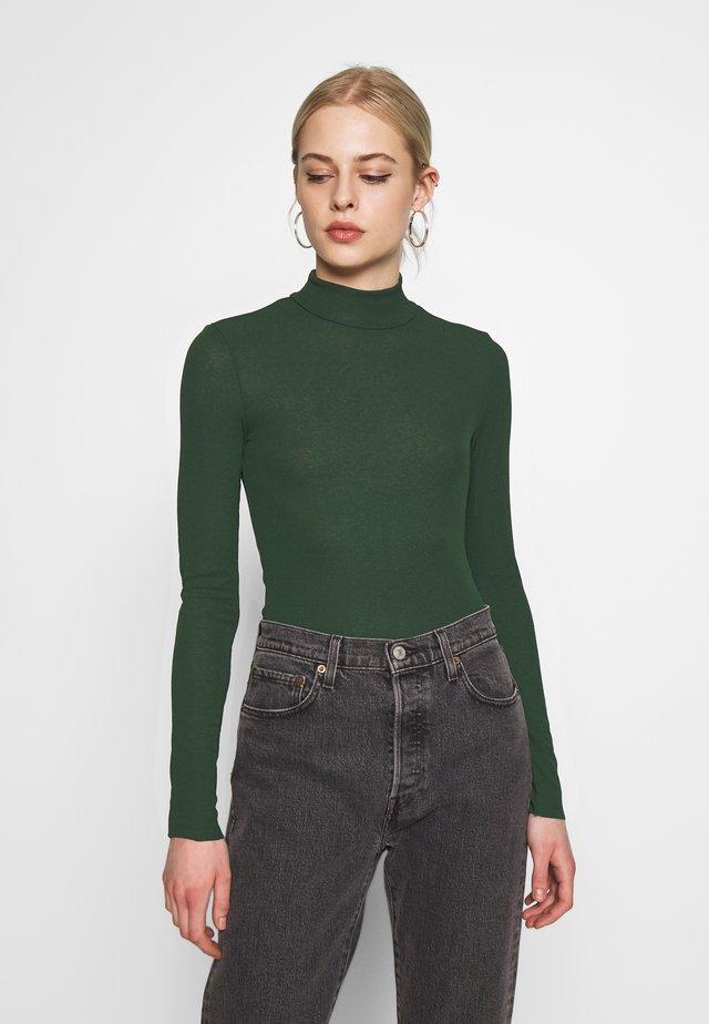 JAVA  - Pitkähihainen paita - green dark