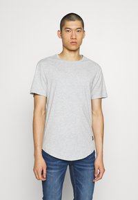 Only & Sons - 3 PACK - T-shirt basic - black/white/light grey melange - 4
