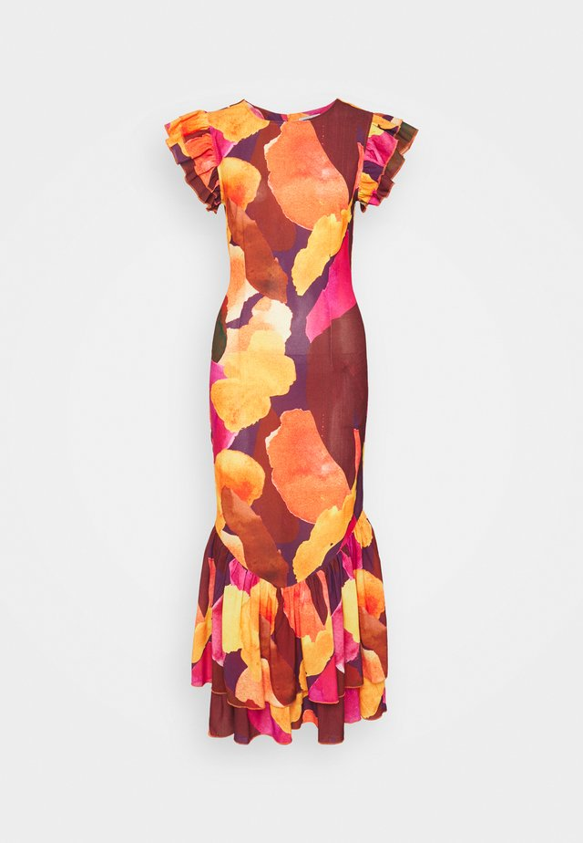 SUNSET ARTIST DRESS - Vapaa-ajan mekko - multi