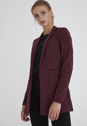 KATE LONG BL - Short coat - winetasting