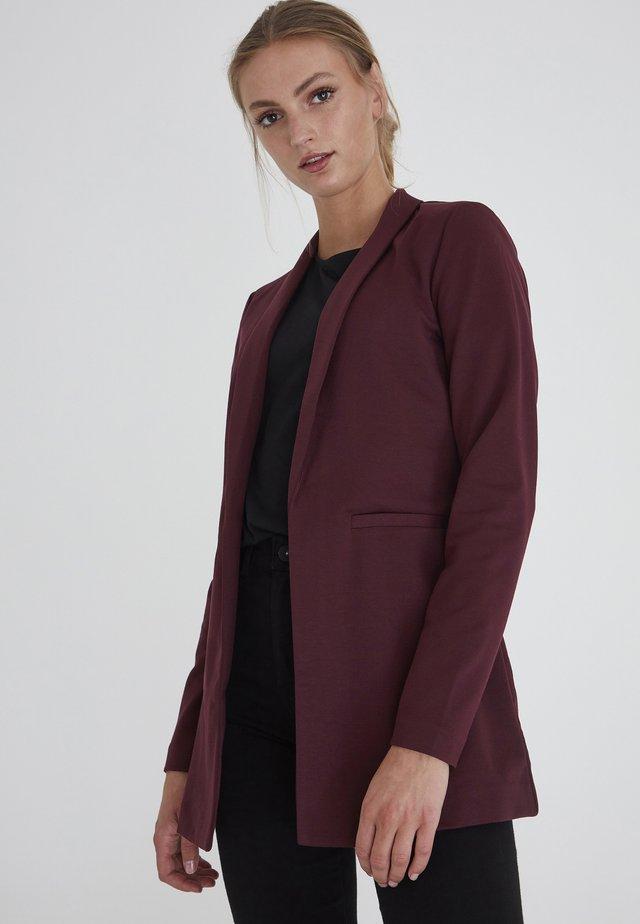 KATE LONG BL - Short coat - winetasting