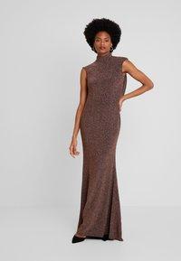 Jarlo - HART - Společenské šaty - bronze - 3