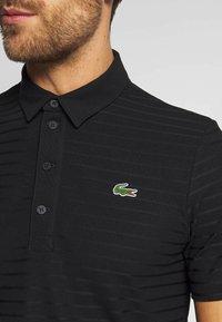 Lacoste Sport - GOLF STRIPE - Sports shirt - black - 5