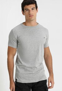 Replay - 2 PACK - T-shirt basic - grey melange - 1