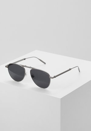 Sunglasses - ruthenium/grey