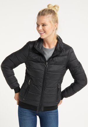 STEPPJACKE - Winter jacket - schwarz