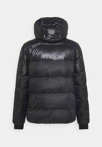 Calvin Klein - LOGO PUFFER JACKET - Down jacket - black - 1