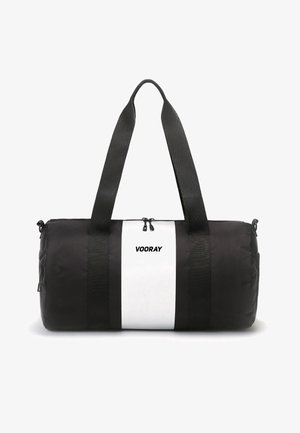 BARREL - Sports bag - silver stripe