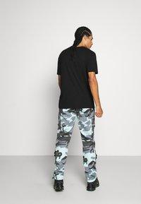 Sixth June - CAMO STRAP PANTS - Cargo trousers - blue - 2