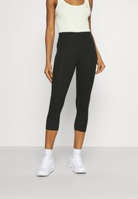 Gina Tricot - BASIC 2 PACK - Leggings - black - 1