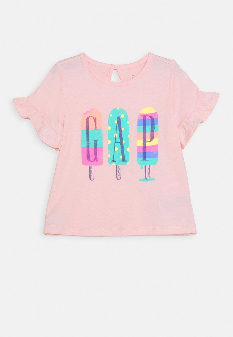 GAP - ARCH - T-shirt print - pink cameo