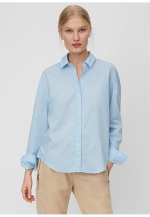 MARC O'POLO BLUSE AUS ORGANIC COTTON - Overhemdblouse - light blue