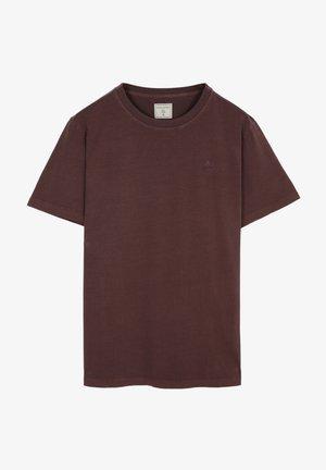 SKULL TEE - T-shirt basic - burgundy