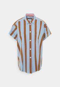Paul Smith - WOMENS  - Button-down blouse - blue - 0