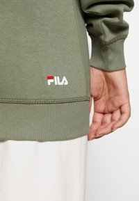 Fila Tall - PURE HOODY - Jersey con capucha - sea spray - 3