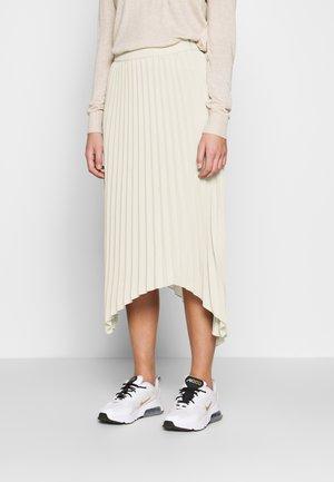 SKIRT MELANIE - A-line skirt - beige