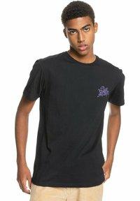 Quiksilver - Print T-shirt - black - 2