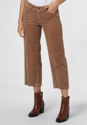 HOSE - Trousers - camel