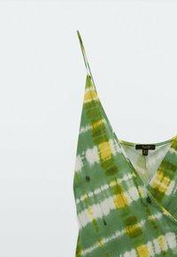 Massimo Dutti - Day dress - green/white - 4