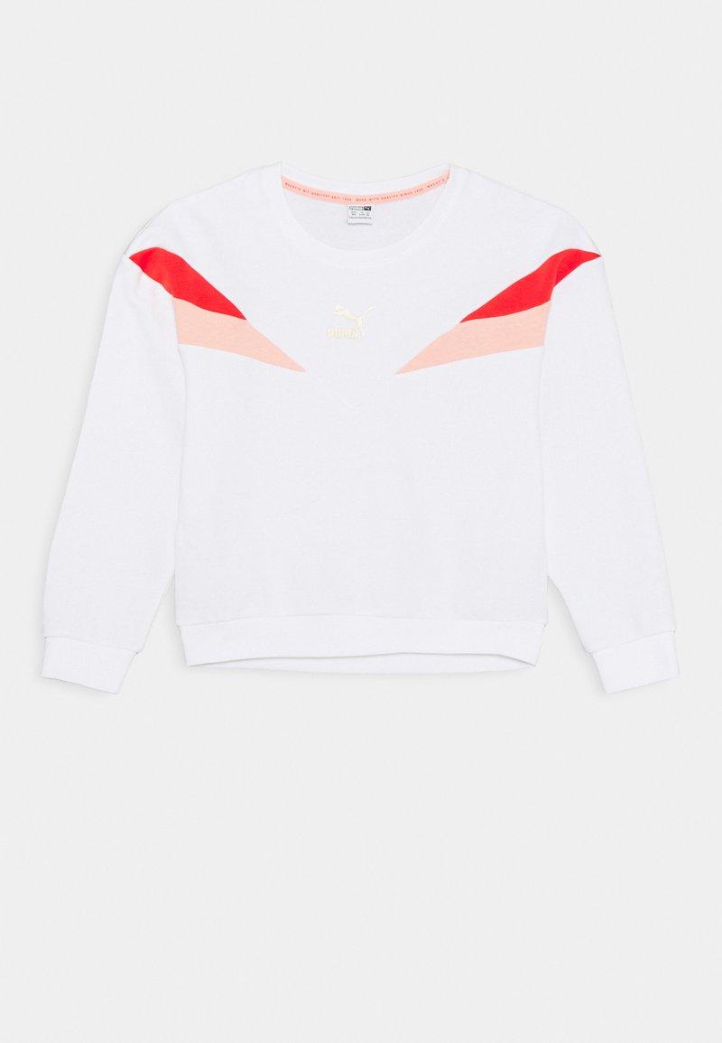 Puma - CREW - Sweatshirt - white