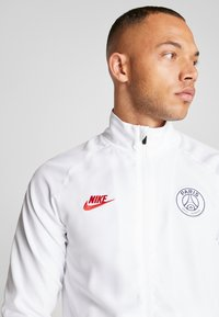 Nike Performance - PARIS ST GERMAIN DRY SUIT SET - Verryttelypuku - white/midnight navy/pure platinum/university red - 5