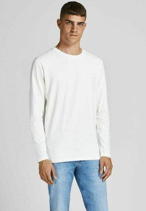 BASIC - Long sleeved top - blanc de blanc
