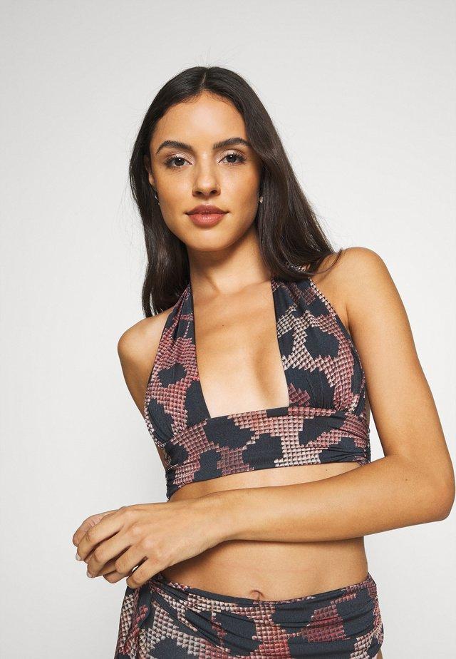 HESTER - Bikini pezzo sopra - red/black